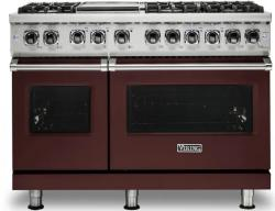 Brand: Viking, Model: VDR5486GSS, Color: Kalamata Red, Natural Gas