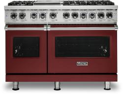 Brand: Viking, Model: VDR5486GSS, Color: Reduction Red, Liquid Propane
