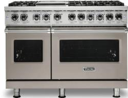 Brand: Viking, Model: VDR5486GSS, Color: Pacific Grey, Liquid Propane