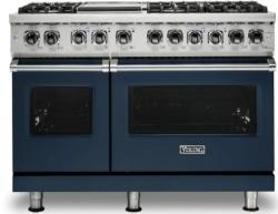 Brand: Viking, Model: VDR5486GSS, Color: Slate Blue, Natural Gas