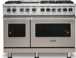 Brand: Viking, Model: VDR5486GSS, Color: Pacific Grey, Natural Gas