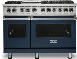 Brand: Viking, Model: VDR5486GSS, Color: Slate Blue, Liquid Propane