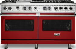 Brand: Viking, Model: VDR5606GQCS, Fuel Type: Apple Red, Natural Gas