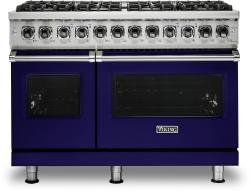 Brand: Viking, Model: VDR5486GSS, Fuel Type: Cobalt Blue, Liquid Propane