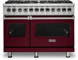 Brand: Viking, Model: VDR5486GSS, Fuel Type: Burgundy, Liquid Propane