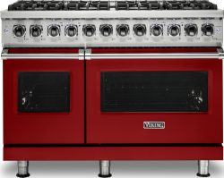 Brand: Viking, Model: VDR5488BCBLP, Fuel Type: Apple Red, Natural Gas