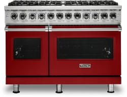 Brand: Viking, Model: VDR5486GSS, Fuel Type: Apple Red, Liquid Propane