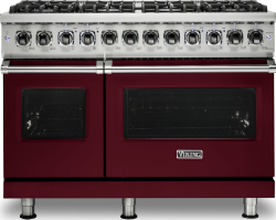 Brand: Viking, Model: VDR5488BCBLP, Fuel Type: Burgundy, Natural Gas