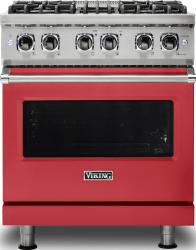 Brand: Viking, Model: VDR5304BARLP, Color: San Marzano Red, Natural Gas