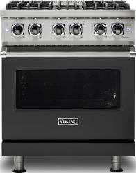 Brand: Viking, Model: VDR5304BARLP, Color: Cast Black, Natural Gas