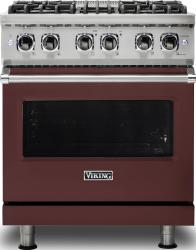 Brand: Viking, Model: VDR5304BARLP, Color: Kalamata Red, Natural Gas