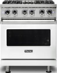 Brand: Viking, Model: VDR5304BARLP, Color: Frost White, Natural Gas