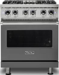 Brand: Viking, Model: VDR5304BARLP, Color: Damascus Grey, Natural Gas