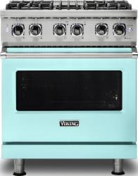 Brand: Viking, Model: VDR5304BARLP, Color: Bywater Blue, Natural Gas