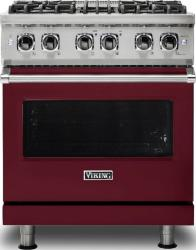Brand: Viking, Model: VDR5304BARLP, Fuel Type: Burgundy, Natural Gas