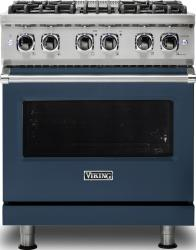 Brand: Viking, Model: VDR5304BARLP, Color: Slate Blue, Liquid Propane