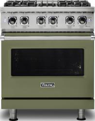 Brand: Viking, Model: VDR5304BARLP, Color: Cypress Green, Liquid Propane