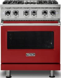 Brand: Viking, Model: VDR5304BARLP, Fuel Type: Apple Red, Liquid Propane