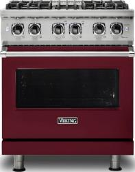 Brand: Viking, Model: VDR5304BARLP, Fuel Type: Burgundy, Liquid Propane