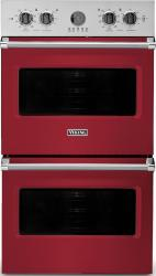 Brand: Viking, Model: VDOE530GG, Color: Apple Red