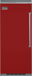 Brand: Viking, Model: VCRB5363RFW, Style: Apple Red, Left Hinge