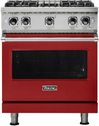 Brand: Viking, Model: VGR5304BAGLP, Fuel Type: Apple Red with Liquid Propane