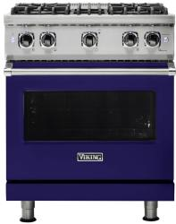 Brand: Viking, Model: VGR5304BCY, Fuel Type: Cobalt Blue with Liquid Propane