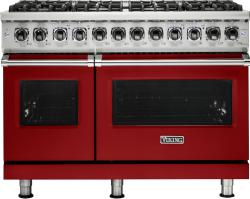 Brand: Viking, Model: VDR5488BCBLP, Fuel Type: Apple Red, Liquid Propane