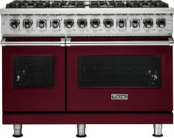 Brand: Viking, Model: VDR5488BCBLP, Fuel Type: Burgundy, Liquid Propane