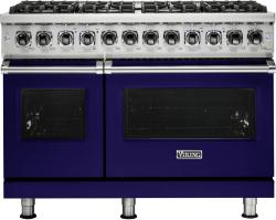 Brand: Viking, Model: VDR5488BCBLP, Fuel Type: Cobalt Blue, Liquid Propane