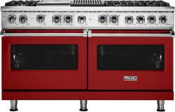 Brand: Viking, Model: VDR5606GQCS, Fuel Type: Apple Red, Liquid Propane
