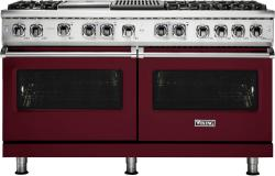 Brand: Viking, Model: VDR5606GQCS, Fuel Type: Burgundy, Liquid Propane