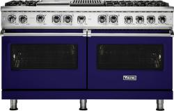 Brand: Viking, Model: VDR5606GQCS, Fuel Type: Cobalt Blue, Liquid Propane