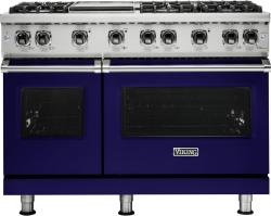 Brand: Viking, Model: VGR5486GAG, Fuel Type: Cobalt Blue, Liquid Propane