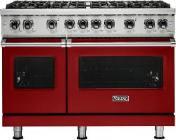 Brand: Viking, Model: VGR5488BBKLP, Fuel Type: Apple Red, Liquid Propane