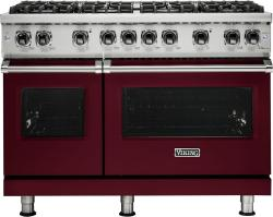 Brand: Viking, Model: VGR5488BBKLP, Fuel Type: Burgundy, Liquid Propane
