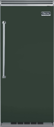 Brand: Viking, Model: VCFB5363LCB, Color: Blackforest Green, Right Hinge