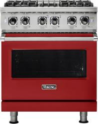 Brand: Viking, Model: VDR5304BWHLP, Fuel Type: Apple Red, Natural Gas
