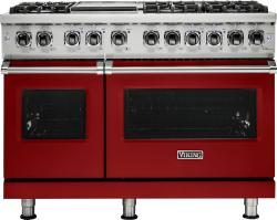 Brand: Viking, Model: VDR5486GAB, Fuel Type: Apple Red, Natural Gas