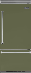 Brand: Viking, Model: VCBB5363ELSB, Color: Cypress Green, Right Hinge