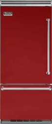 Brand: Viking, Model: VCBB5363ELSB, Color: Apple Red, Left Hinge