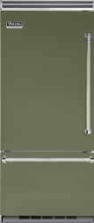 Brand: Viking, Model: VCBB5363ELSB, Color: Cypress Green, Left Hinge