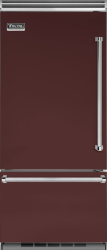 Brand: Viking, Model: VCBB5363ELSB, Color: Kalamata Red, Left Hinge