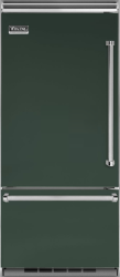 Brand: Viking, Model: VCBB5363ELSB, Color: Blackforest Green, Left Hinge