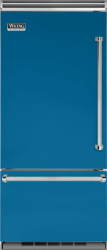 Brand: Viking, Model: VCBB5363ELSB, Color: Alluvial Blue, Left Hinge
