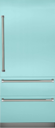 Brand: Viking, Model: VBI7360WRSS, Color: Bywater Blue, Right Hinge