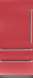 Brand: Viking, Model: VBI7360WLBU, Color: San Marzano Red, Left Hinge