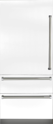 Brand: Viking, Model: VBI7360WLBU, Color: Frost White, Left Hinge
