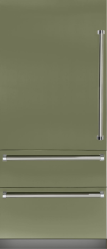 Brand: Viking, Model: VBI7360WLBU, Color: Cypress Green, Left Hinge