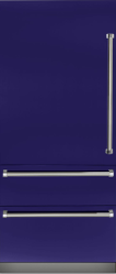 Brand: Viking, Model: VBI7360WLBU, Color: Cobalt Blue, Left Hinge